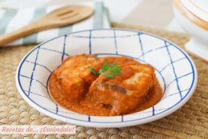 Receta de bonito con tomate o atun con tomate