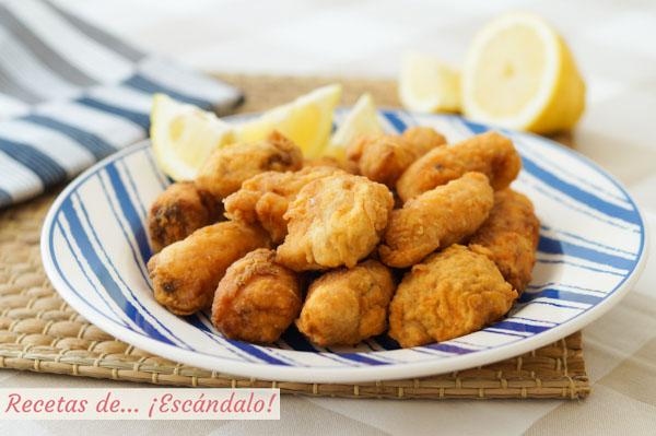 Receta de cazon en adobo o bienmesabe, un aperitivo riquisimo con pescado