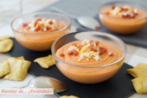 Receta de porra antequerana tradicional, una sopa fria deliciosa