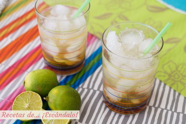 Receta del coctel brasileno caipirinha o caipirina