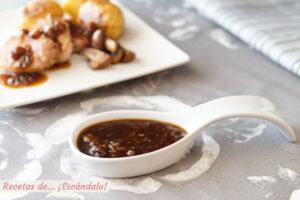 Salsa Pedro Ximenez (sin nata), muy facil e ideal para carnes
