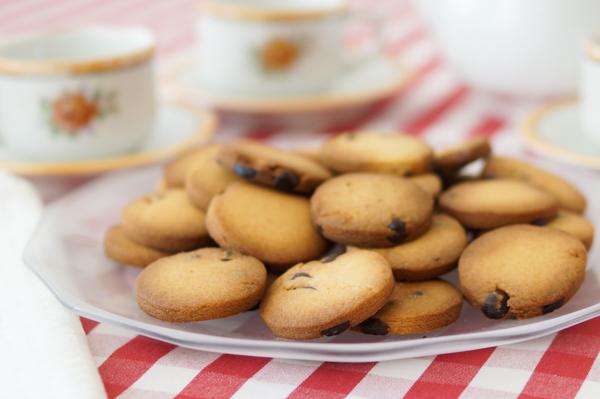 Como hacer galletas de mantequilla caseras con chips de chocolate
