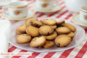 Cómo hacer galletas de mantequilla caseras con pepitas de chocolate