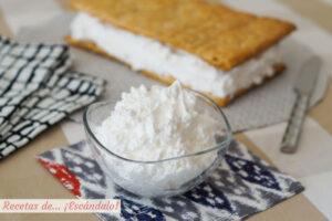 Cómo hacer merengue italiano, ideal para decoraciones, rellenos y milhojas