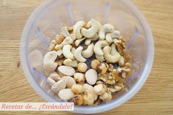 Frutos secos para granola casera