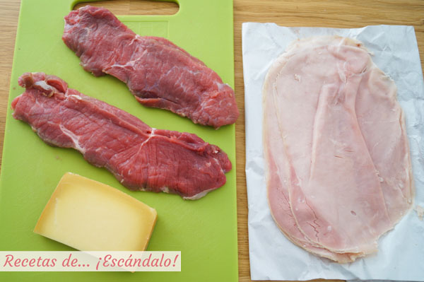 Ingredientes cordon bleu