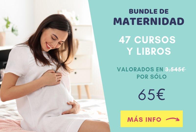 bundle maternidad cursos y libros oferta