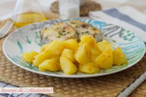 Patatas al microondas y salteadas, la mejor alternativa a las patatas fritas