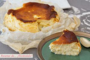 Tarta de queso La Vina, la receta autentica y deliciosa