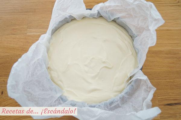 Tarta de queso restaurante la Vina