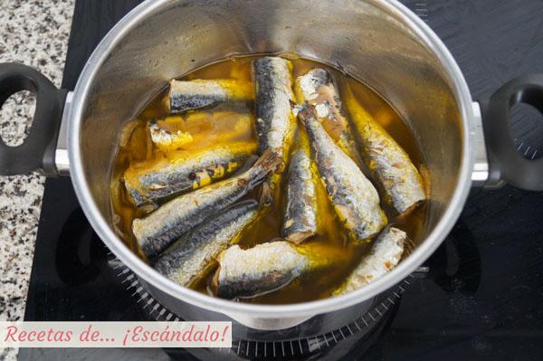 Como hacer sardinas en escabeche