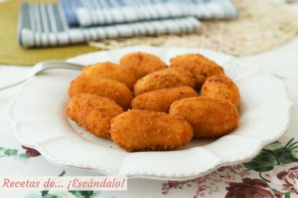 Como hacer croquetas de cocido o puchero, cremosas y crujientes