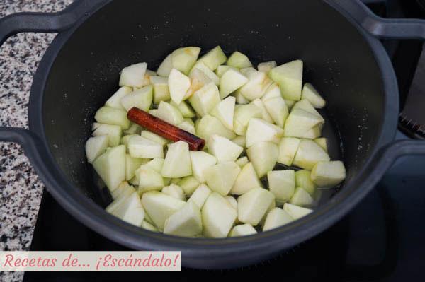 Ingredientes mermelada de manzana y canela