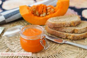 Mermelada de calabaza con canela. Receta facil y aromatica