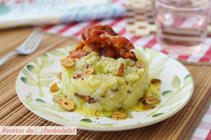 Trinxat de la Cerdana de col y patata, una receta tradicional deliciosa