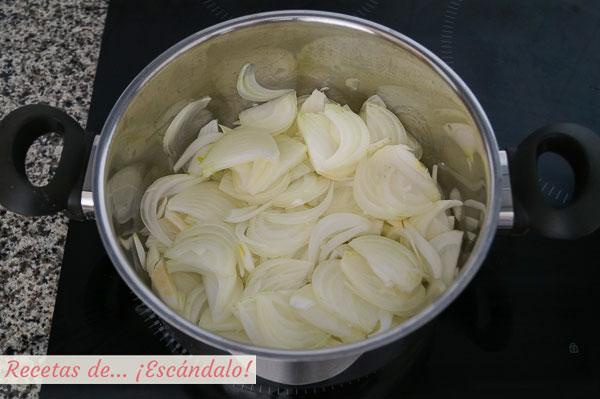Cebolla para sopa
