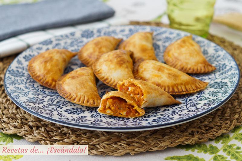 Empanadillas al horno de atun y sofrito, muy faciles y ricas