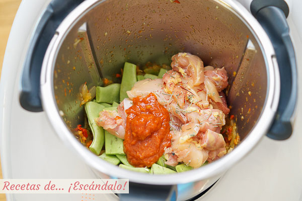 Ingredientes arroz con pollo thermomix