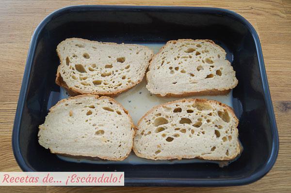 Tostadas francesas o french toast