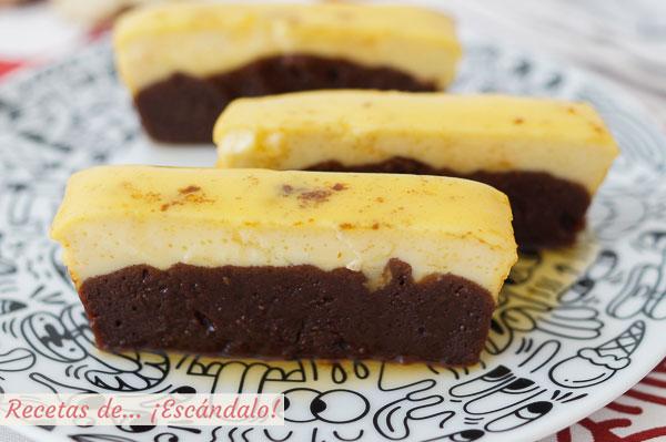 Como hacer chocoflan o pastel imposible, una receta sorprendente y deliciosa