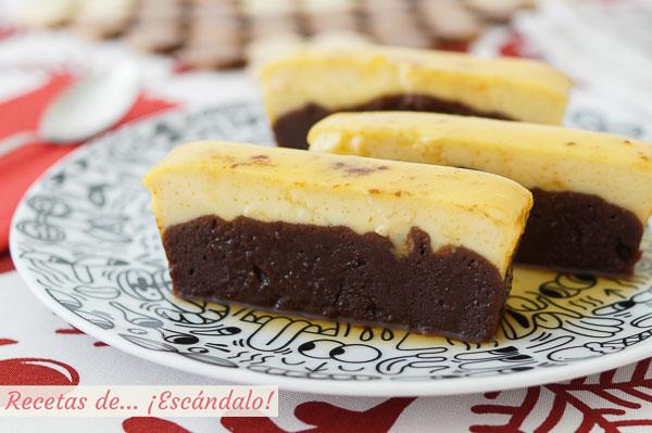 Receta de chocoflan o pastel imposible, sorprendente y delicioso