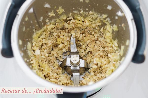 Champinones para risotto