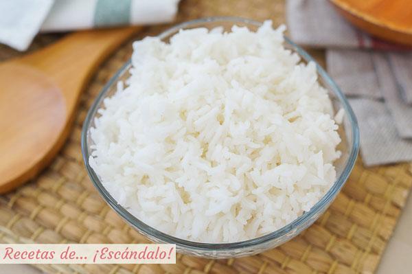 Como hacer arroz blanco con Thermomix, cocido en su punto