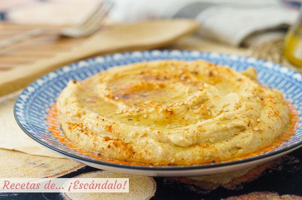 Receta de hummus con Thermomix, el mas rico y cremoso