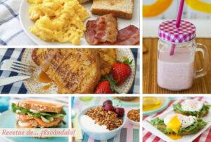Los mejores desayunos y brunch para preparar en casa, muy ricos y faciles
