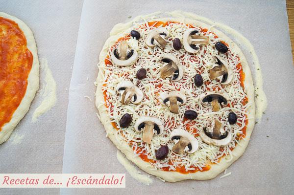 Masa de pizza casera thermomix