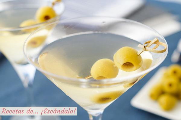 Receta de Martini, Dry Martini o Martini seco, un coctel exquisito y sencillo