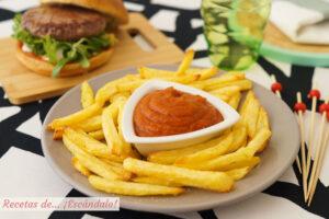 Ketchup, catchup o catsup casero, facil y delicioso