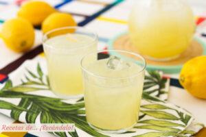 Limonada con Thermomix, refrescante y lista en un momento