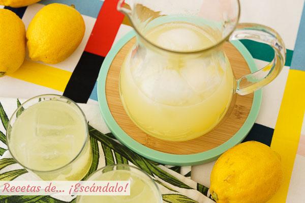 Receta de limonada con Thermomix, refrescante y lista en un momento