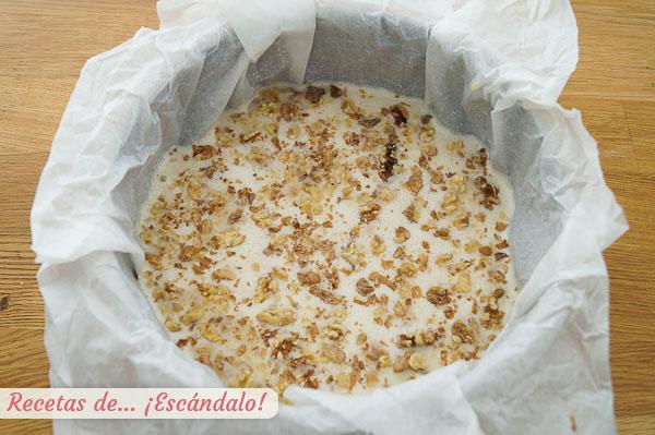 Ingredientes tarta de manzana casera