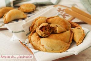 Empanadas argentinas o empanadas criollas de carne con masa casera