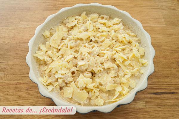 Mac and cheese con pan rallado