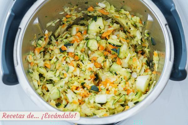 Ingredientes pure de verduras o crema thermomix