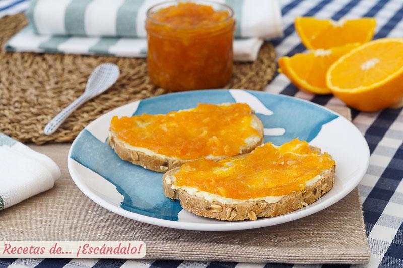 Mermelada de naranja casera amarga o no. Receta sencilla y de 10