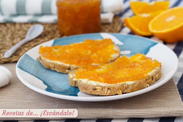 Receta de mermelada de naranja casera amarga o no, sencilla y de 10
