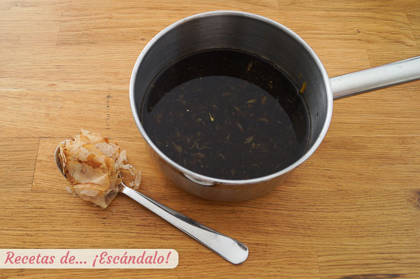 Katsuobushi para salsa ponzu